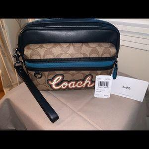 NWT Coach pouch